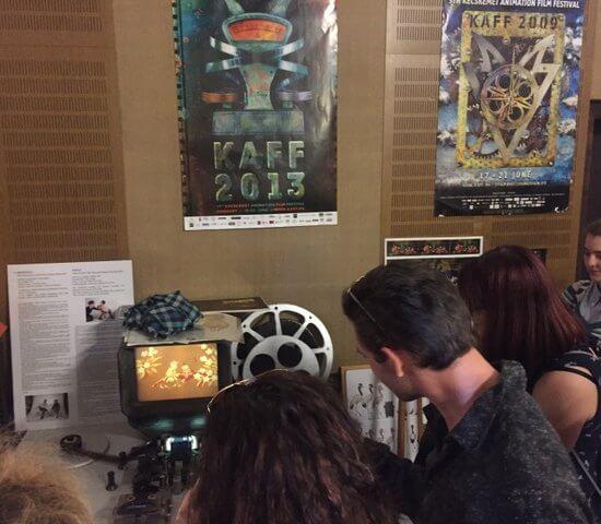 Kecskeméti filmstúdió tanulmányi kirándulás
