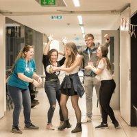 közművelődési szakos diákok a szakmák éjszakája rendezvényen