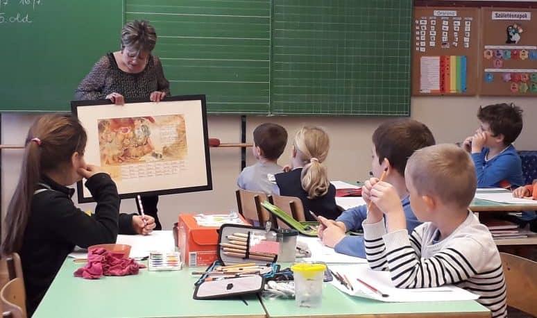 pedagógia szakos tanulóink külső helyszínen