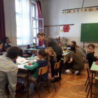 pedagógiai szakos tanulóink külső helyszínen