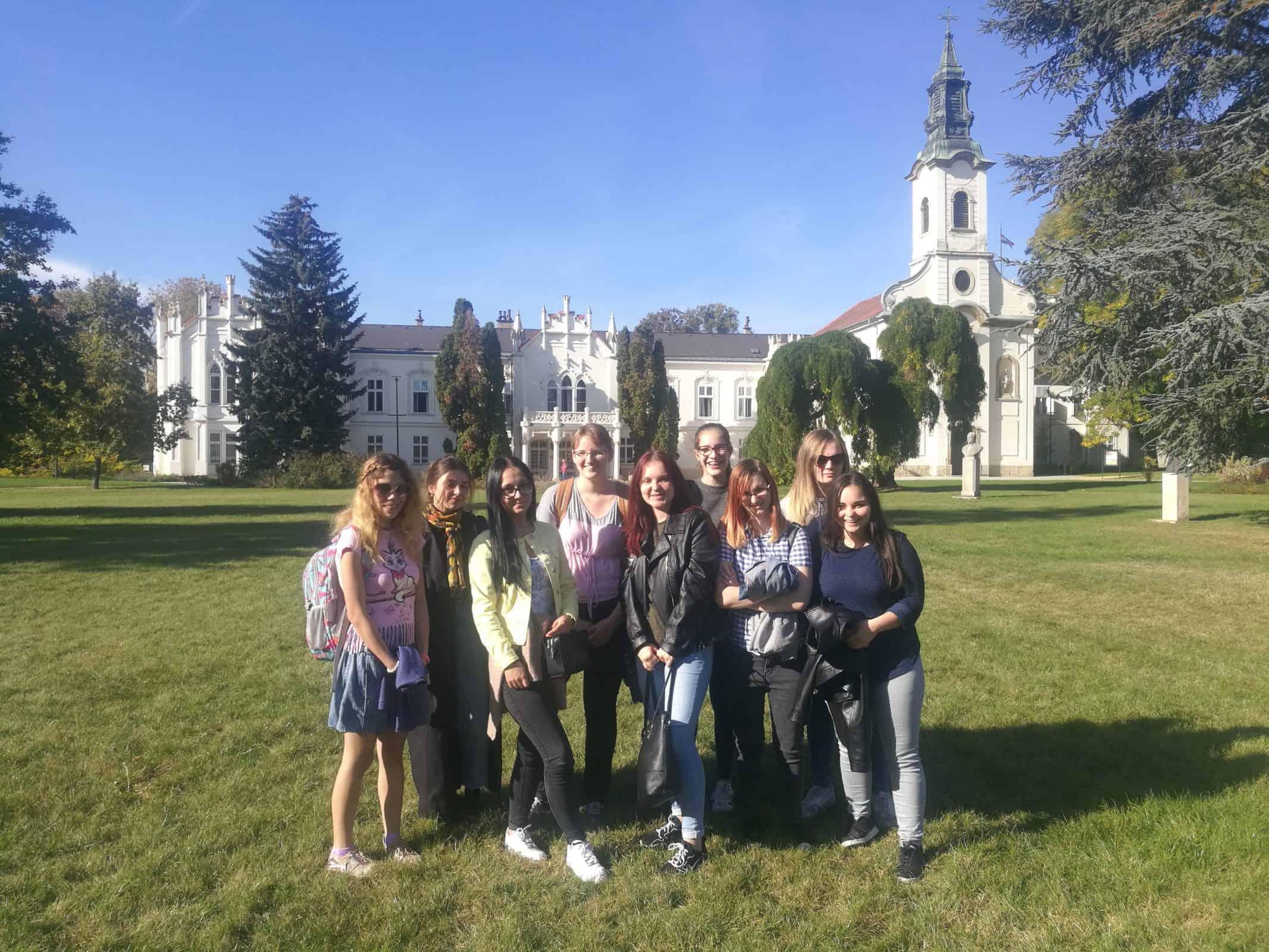 pedagógiai szakos tanulóink csoportkép