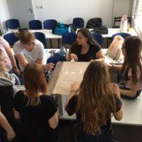 pedagógiai szakos tanulóink a design héten