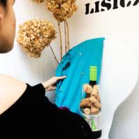 kirakat dekoráció készítése dekoratőr tanuló által