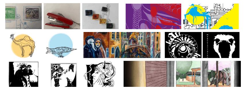 online kiállítás borítóképe montázs