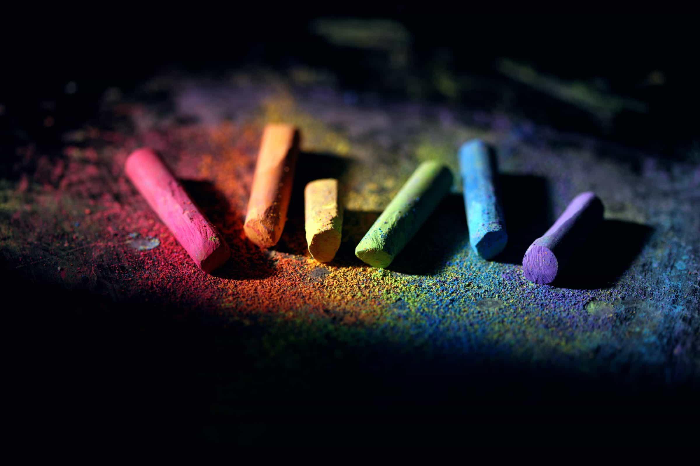 színes kréták