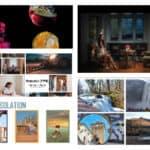 fotográfus vizsgamunkákból készült színes montázs